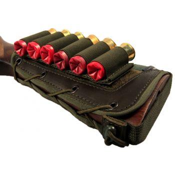 Патронташ на приклад на 6 патронов (12-16 кбр) ЛАЙТ