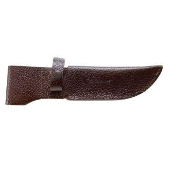 Ножны модель № 8 нож: 007,09, Лосиный-большой ДП (с кнопкой) 155мм*48мм