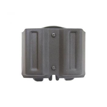 Купить паучер двойной пластиковый с креплением краб (MOLLE) (Размер №4) Вектор, Glock 17