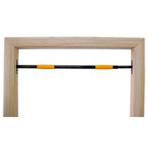 Турник в распор №1(труба 25) цвет ручек: черный, желтый
