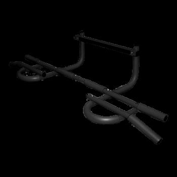 Турник-3 треххватный (труба 25)(крепеж в дверной проем)цвет ручек: черный, желтый