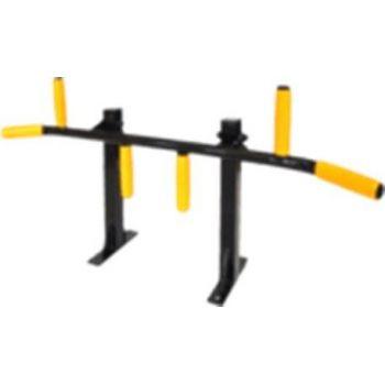 """Турник""""Oлимп""""(профиль 40*40) (крепеж к стене,потолку) Цвета:черный, белый, серый цвет ручек: черный, желтый"""