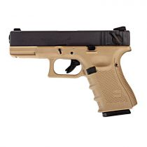 Пистолет WE GLOCK-23 gen4 TAN (WE-G004B-TAN)