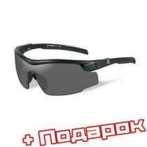 Баллистические очки REMINGTON Platinum RE100. Цвет линз: Smoke + сухой паек ИРП-МГ