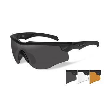 Очки баллистические Wiley X ROGUE COMM 2852. Линзы: Grey/Clear/Rust