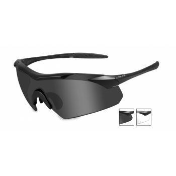 Баллистические очки WX VAPOR 3501. Линзы: Smoke/Clear