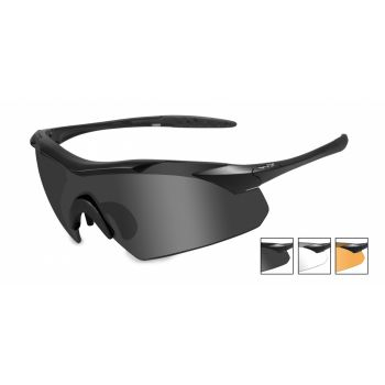 Баллистические очки WX VAPOR 3502. Линзы: Smoke/Clear/Light Rust