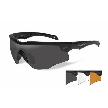 Баллистические очки WX ROGUE 2802. Линзы: Smoke/Clear/Light Rust