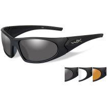 Баллистические очки WX ROMER 1006. Линзы: Smoke/Clear/Light Rust
