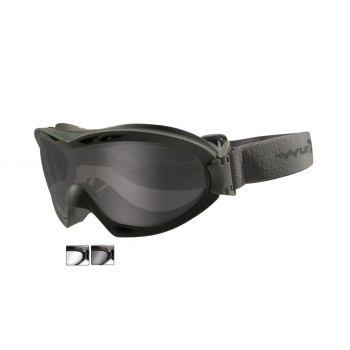 Тактическая маска WX NERVE R-8051G. инзы: Smoke/Clear