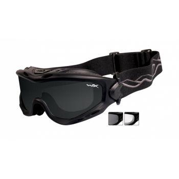 Тактическая маска WX SPEAR SP29B. Линзы: Smoke/Clear