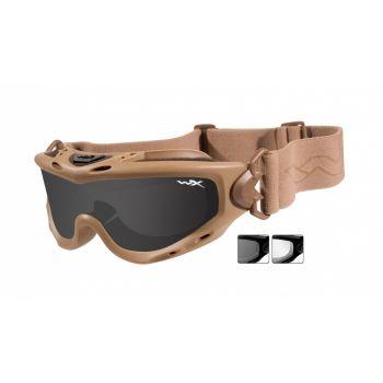Тактическая маска WX SPEAR SP29T. Линзы: Smoke/Clear