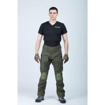 Купить брюки GIENA Tactics боевые GC Цвет: Олива темная-канвас