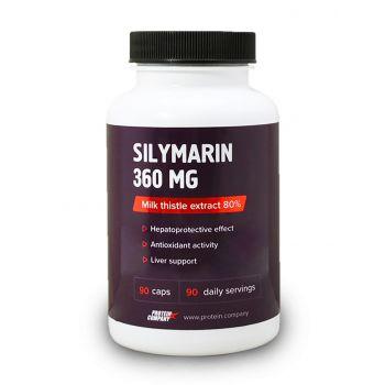 Silymarin 360 mg / Экстракт расторопши 80% / Капсулы / 90 порций / 90 капсул