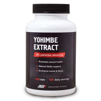 Yohimbe extract / Экстракт йохимбе / Капсулы / 120 порций / 120 капсул