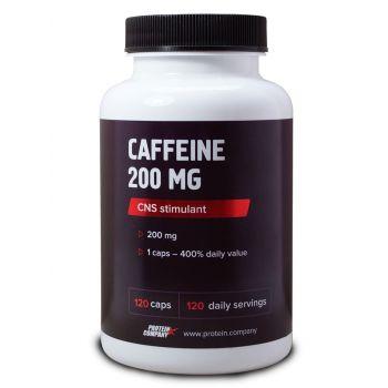 Caffeine 200 mg / Кофеин / Капсулы / 120 порций / 120 капсул
