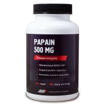 Papain 500 mg / Папаин / Капсулы / 90 порций / 90 капсул