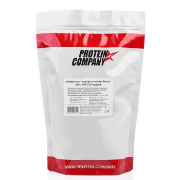 Native whey protein 80% / Протеин INSTANT / Порошок / 40 порций / 1 000 грамм / вкус натуральный