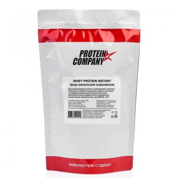 Whey protein instant / Сывороточный / Порошок / 20 порций / 500 грамм / вкус ванильное мороженое