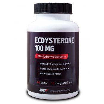 Ecdysterone 100 mg / Экдистерон 99% / Капсулы / 30 порций / 90 капсул