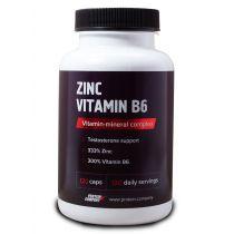 Zinc vitamin B6 / Цинк + Витамин B6 / Капсулы / 120 порций / 120 капсул