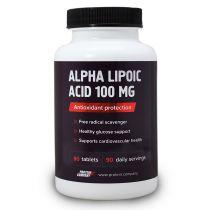 Alpha lipoic acid 100 mg / Альфа-липоевая / Таблетки / 90 порций / 90 таблеток / вкус натуральный