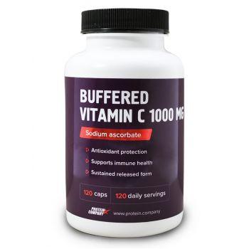 Buffered Vitamin C / Аскорбат натрия / Капсулы / 120 порций / 120 капсул