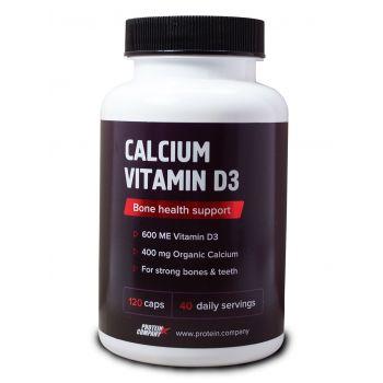 Calcium vitamin D3 / Кальций + Витамин D3 / Капсулы / 40 порций / 120 капсул