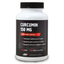 Curcumin 150 mg / Куркумин 95% / Капсулы / 120 порций / 120 капсул