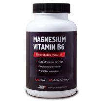 Magnesium vitamin B6 / Магний + витамин B6 / Капсулы / 60 порций / 120 капсул