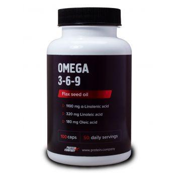 Omega 3-6-9 / Омега 3-6-9 / Мягкие ЖК / 50 порций / 100 капсул