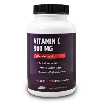 Vitamin C 900 mg / Аскорбиновая кислота / Капсулы / 120 порций / 120 капсул