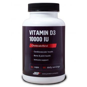 Vitamin D3 10000 IU / Витамин D3 / Капсулы / 90 порций / 90 капсул