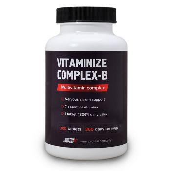 Vitaminize Complex-B / Мультивитаминный комплекс / Таблетки / 360 порций / 360 таблеток / вкус вишня