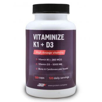 Vitaminize K1 + D3 / Витаминный комплекс / Капсулы / 120 порций / 120 капсул