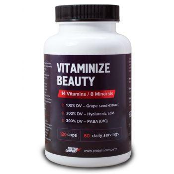 Vitaminize beauty / Мультивитамины женские / Капсулы / 60 порций / 120 капсул