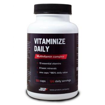 Vitaminize daily / Мультивитаминный комплекс / Капсулы / 120 порций / 120 капсул
