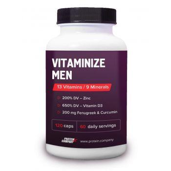 Vitaminize men / Мультивитамины мужские / Капсулы / 60 порций / 120 капсул