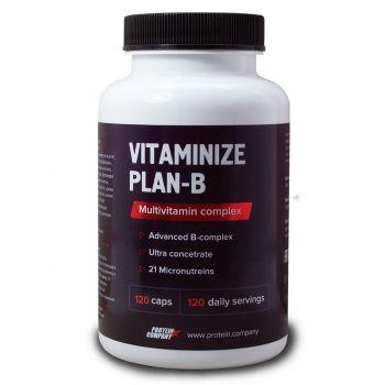 Vitaminize plan-B / Мультивитаминный комплекс / Капсулы / 120 порций / 120 капсул