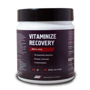 Vitaminize recovery / Мультивитамины спортивные / Порошок / 90 порций / 419 грамм / вкус кола